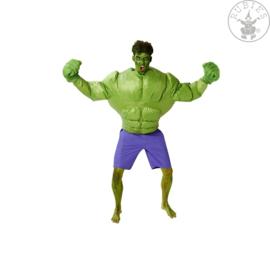 Opblaasbare Hulk kostuum