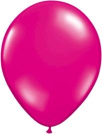 5 inch ballonnen magenta