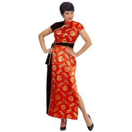 Chinese Mei lin jurk lang