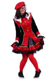 Pieten jurk Graciosa rood