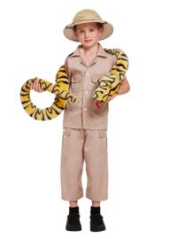 Safari kostuum Freek | kind
