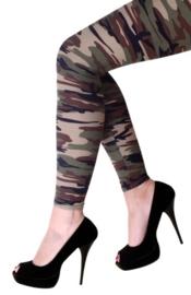Legging camouflage print