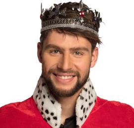 Koningskroon zilverkleurig | king