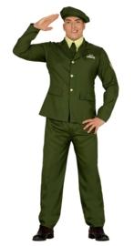 Leger officier kostuum