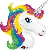 Folieballon rainbow unicorn SuperShape