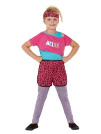 80's fun relax aerobic kostuum