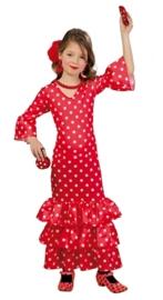 Spaanse jurk flamenca
