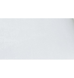 Tafelloper glanzend 28cmX 5m wit