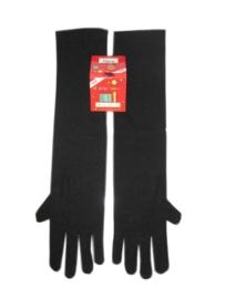 Handschoenen stretch zwart luxe