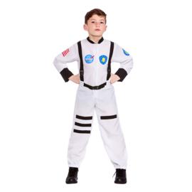 Astronauten kostuum wit