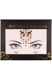 Gezichts steentjes eyecolor luxe