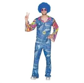Hippie jeans kostuum
