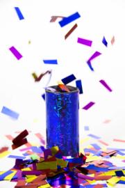 Partyshooter blauw 2 stuks