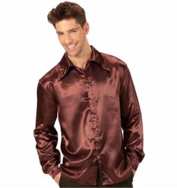 Disco shirt 70's bruin