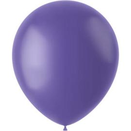 Ballonnen Cornflower Blue Mat 33cm - 50 stuks