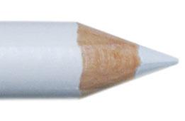 Oogpotlood 11 cm gebroken wit