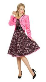 Bolero plushe pink