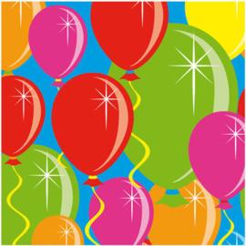 Servetten ballonnen