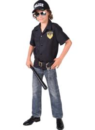 Politie hemd jongen