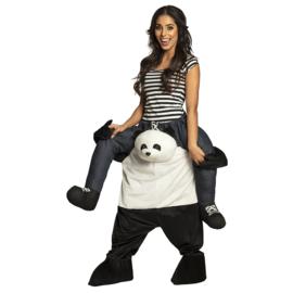 Carre me Kostuum door panda gedragen