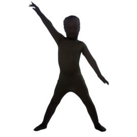Kinder second skin zwart
