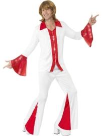 Abba super trooper kostuum man