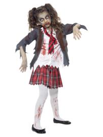 Zombie schoolmeisjes jurkje