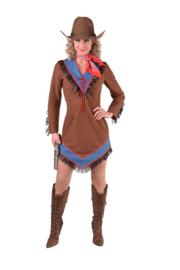 Cowgirl jurkje jeans