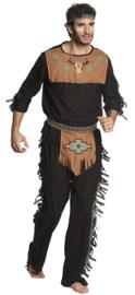 Indiaan kostuum noble wolf