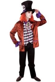 Crazy hat maker kostuum heren