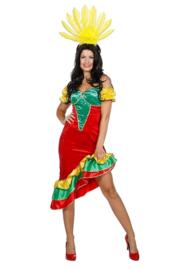 Braziliaanse samba jurk