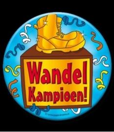 Button XL Wandelkampioen