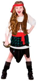 Caribbean piraten meisje kostuum