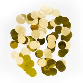 Confetti groot goud