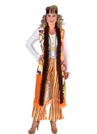 Hippie dames retro kostuum