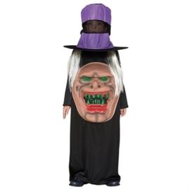 Monster met hoed jongens kostuum