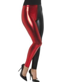 Harlequin Cosplay legging rood zwart