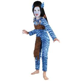 Avatar strijdster kostuum
