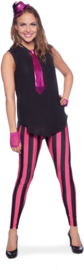 Legging neon pink and black