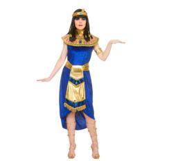 Cleopatra jurk blue