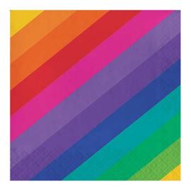 Regenboog servetten