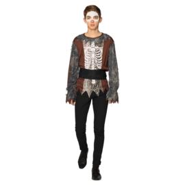 Baron Samedi skelet | tiener kostuum
