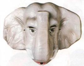 Masker plastic olifant