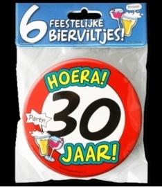 Fun Bierviltjes 30 jaar