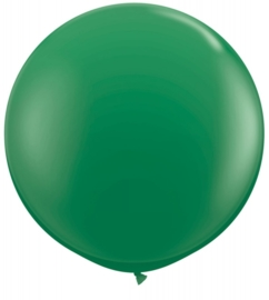 Ballon 90cm groen qualatex