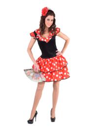 Spaanse sevilla jurk OP=OP