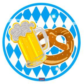 Button led Oktoberfest