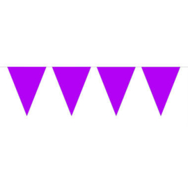 Mini vlaggenlijn paars
