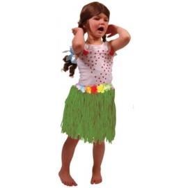Hawai Rok 30cm Groen - kind