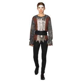 Baron Samedi skelet   tiener kostuum